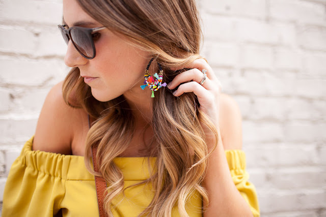 Update your wardrobe for spring with fun tops, bold earrings and on trend shoes