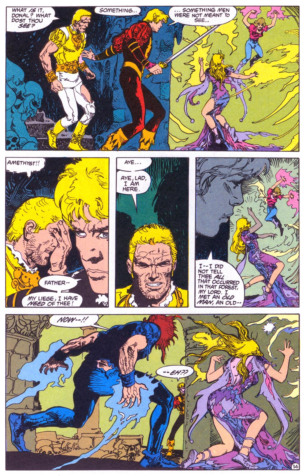 Read online Amethyst (1987) comic -  Issue #3 - 16