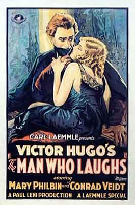 El hombre que ríe, cartel original del film