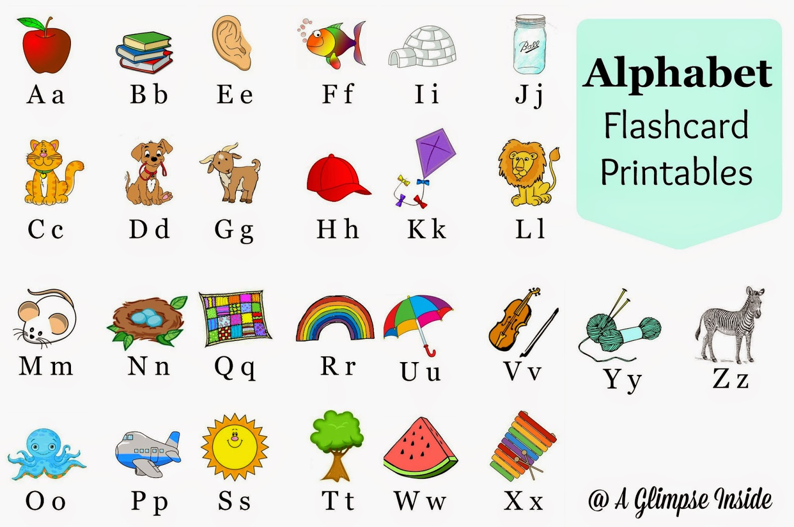 flashcards alphabet alphabet flashcards printables