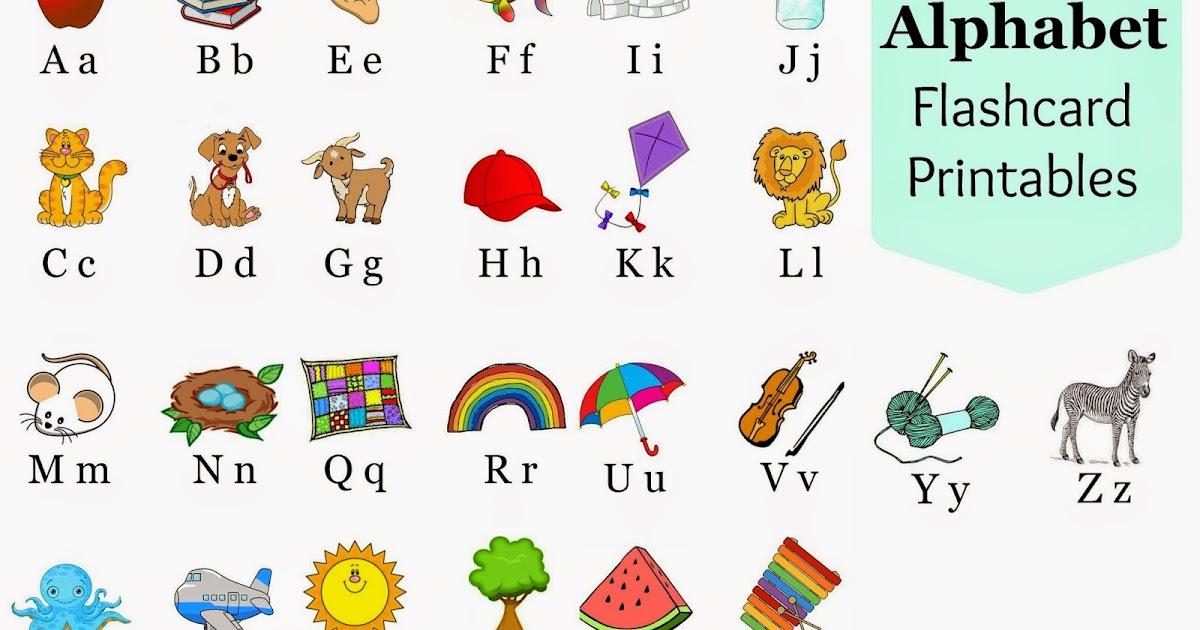 Alphabet Flashcards Printables A Glimpse Inside