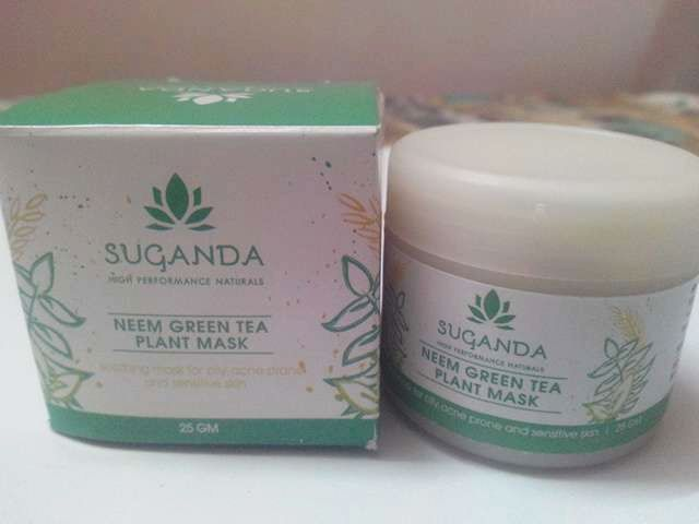 Sugandha Neem Green Tea Plant Mask Review