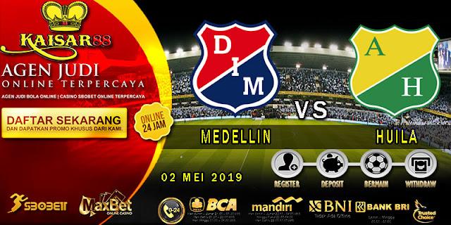 PREDIKSI BOLA TERPERCAYA MEDELLIN VS HUILA 02 MEI 2019