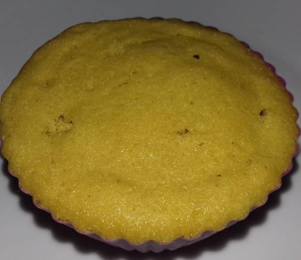 Muffin de cenoura de microondas (doce) receita