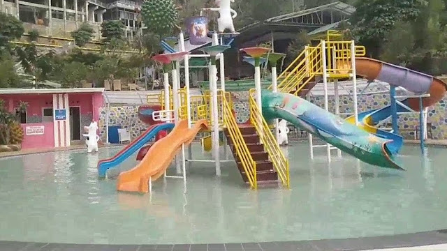 Kolam Anak di KANSA Wonosalam