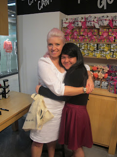 The baby of LUSH SG, and 1/3 of BrazenedHoney, Adriana with Ro!