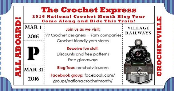 Illuminate Crochet Crochetvilles 2016 Blog Tour How To Make Your