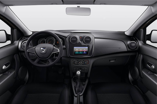Novo Sandero 2017 - interior