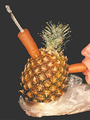 Pineapple Homemade Bong