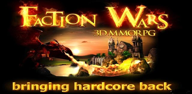 Faction Wars 3D MMORPG APK + DATA