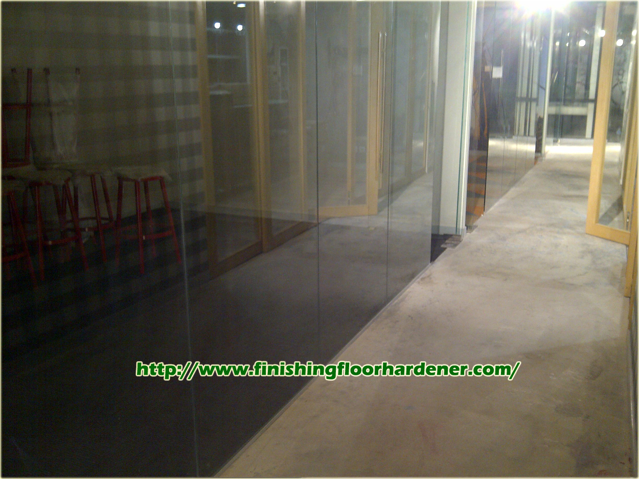 Finishing Floor Hardener - Coating