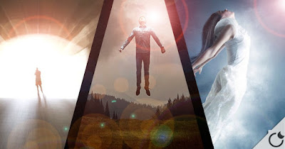Resultado de imagem para cientista pessoas veem no leito da morte