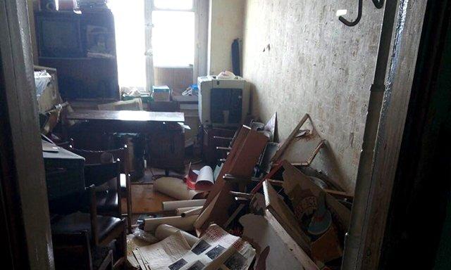 Невідомі розгромили офіс проросійської організації