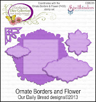 ODBD Ornate Borders and Flower Die Set