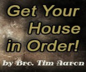 Upcoming: Get Your House in Order