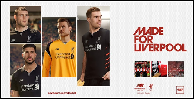 LIVERPOOL 2016-2017 AWAY KIT NEW BALNACE (OFFICIAL)