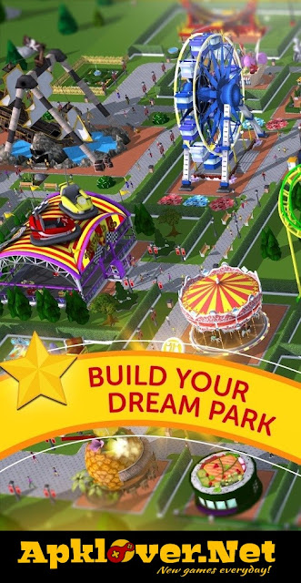 RollerCoaster Tycoon Touch MOD APK unlimited money