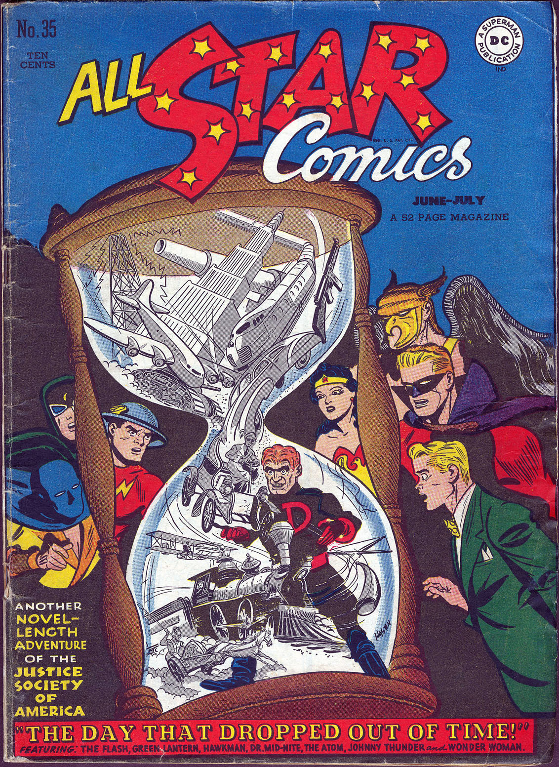 Read online All-Star Comics comic -  Issue #35 - 1