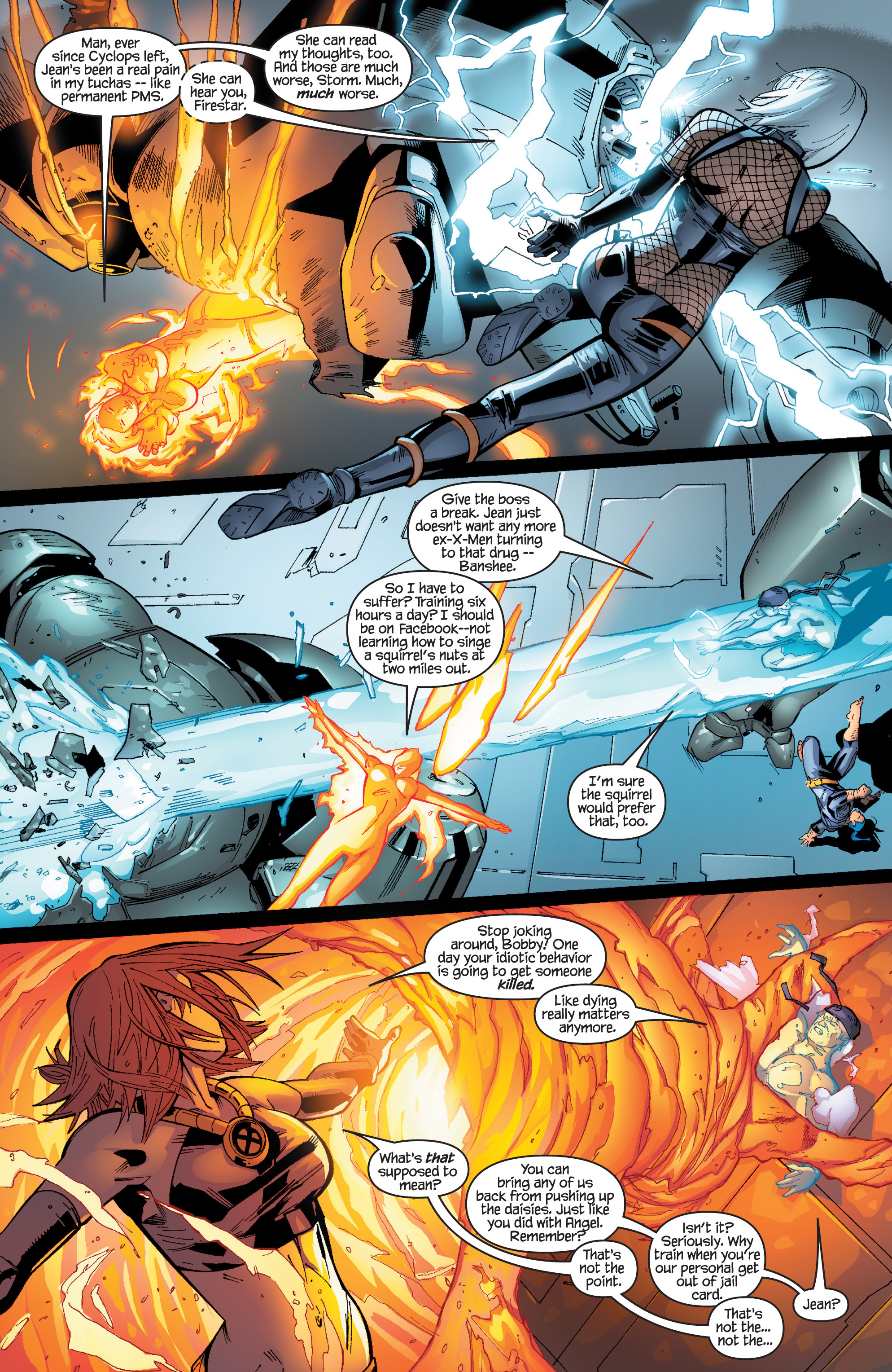 Read online Ultimate X-Men comic -  Issue #96 - 7
