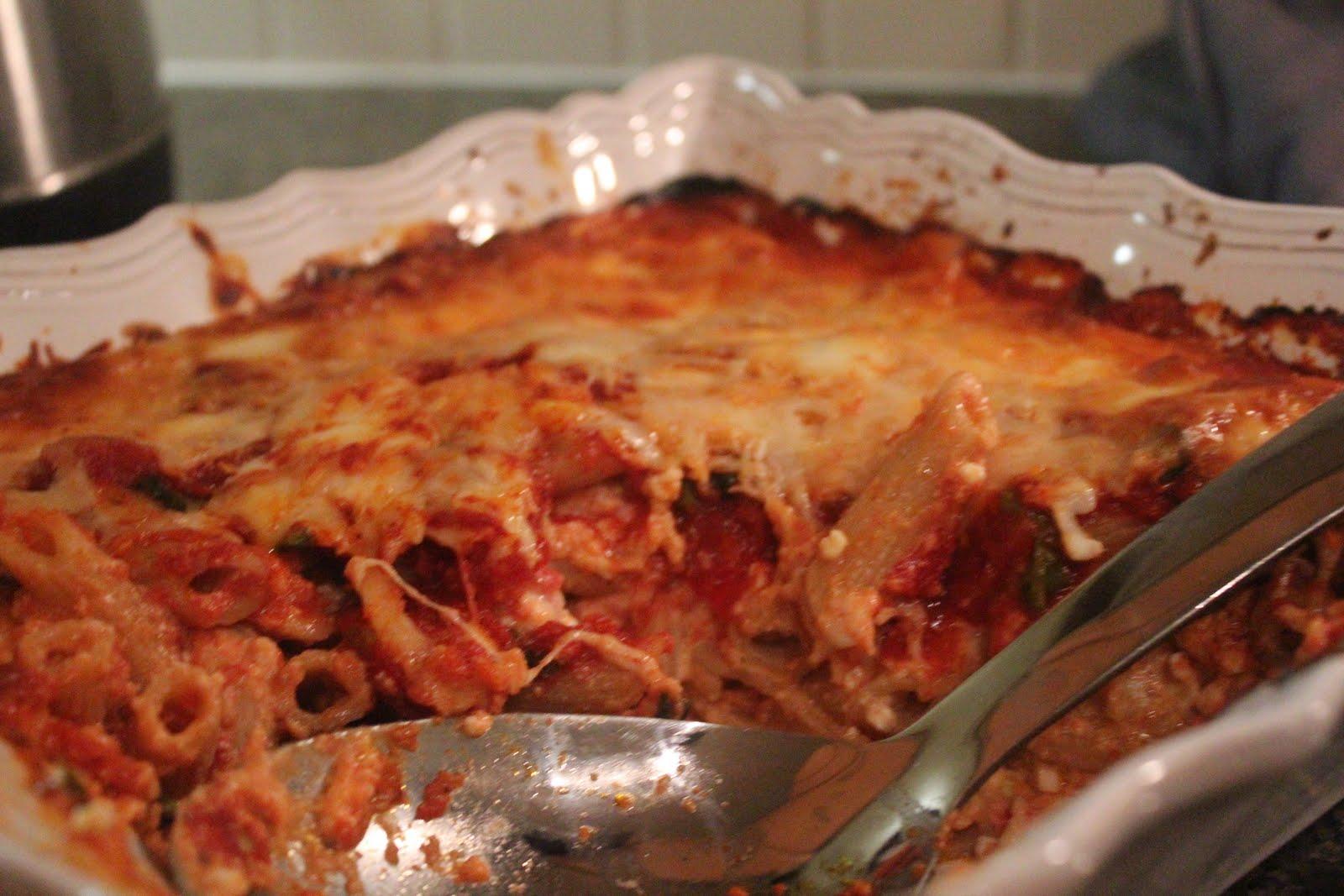 America's Test Kitchen Baked Ziti