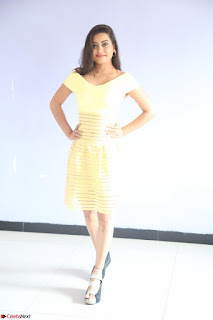 Shipra gaur in V Neck short Yellow Dress ~  078.JPG