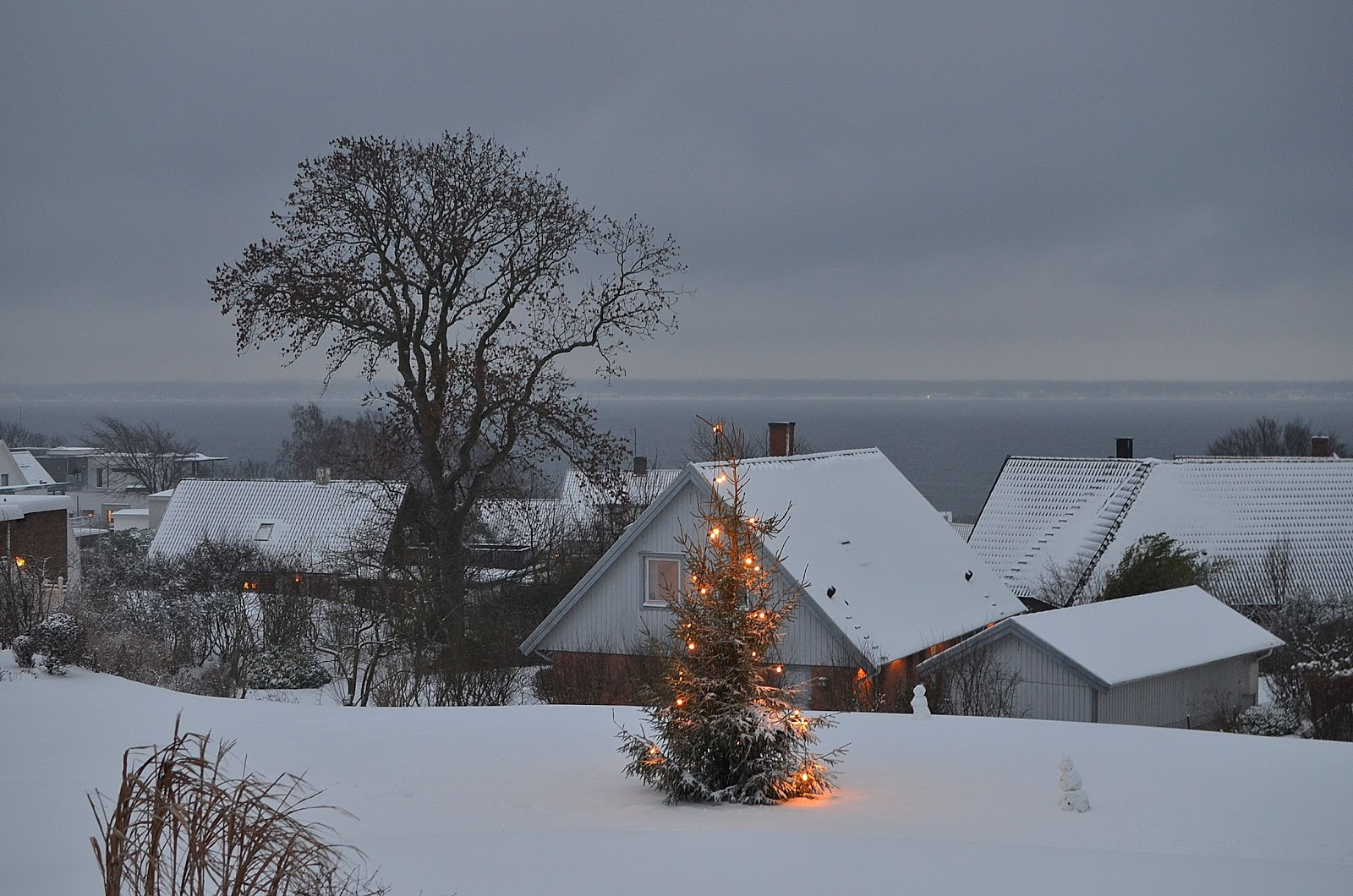 The Things I Enjoy: Lots Of Snow In Southern Sweden
