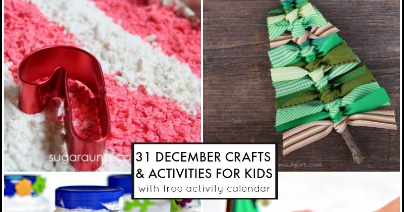 Diy Calendar Printables : December activities for kids free activity calendar