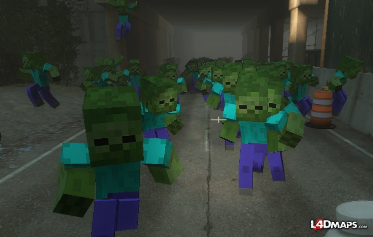 This is a Minecraft Left 4 Dead mod  Isn t it amazing Minecraft Pictures Of Zombies Face