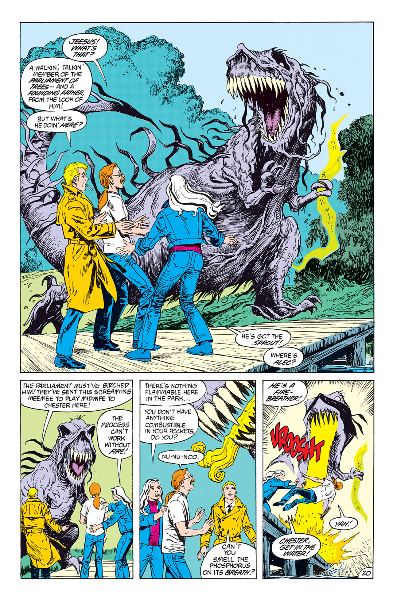Swamp Thing (1982) Issue #73 #81 - English 21