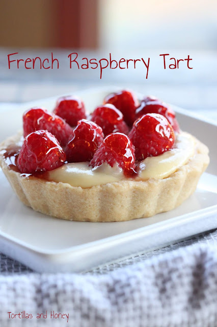 French Raspberry Tart | Tortillas and Honey