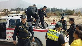 Resultado de imagen para policias de huacho