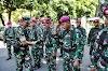 Dandim 0821 dan Kapolres Lumajang Lepas Personel BKO TNI AU dan TNI AL