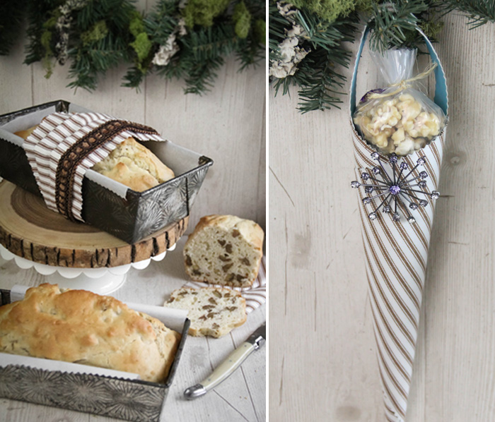 Baked Christmas Gifts: DIY Packaged Baked Goods