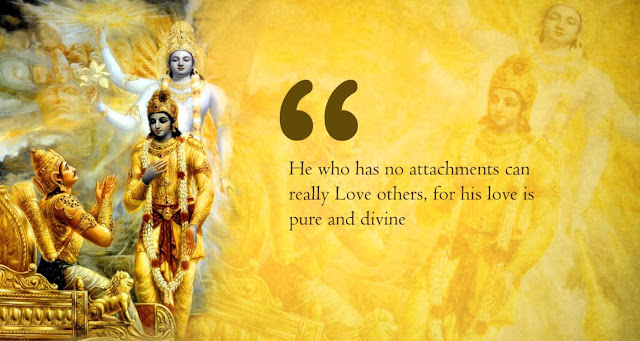 Lord Krishna Quotes On Love