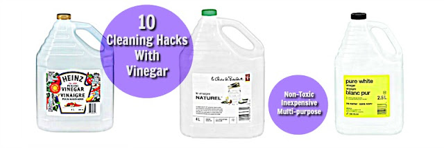 10 non-toxic cleaning hacks with vinegar