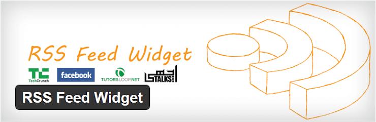 RSS Feed widget plugin