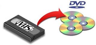 Conversor de VHS a DVD