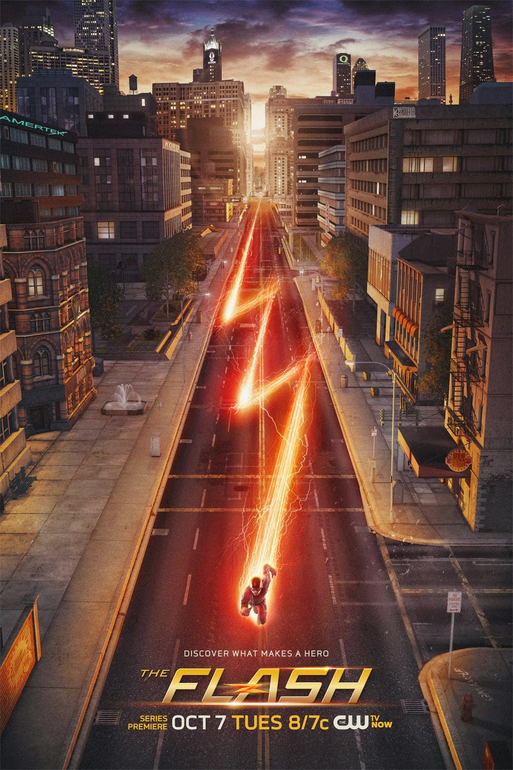 The Flash Teaser Television Poster