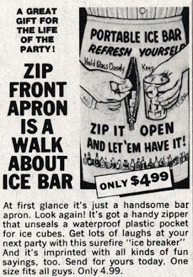 Zip Front Apron