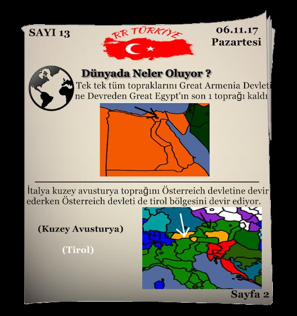 Rival Regions Türkiye 13. Sayısı