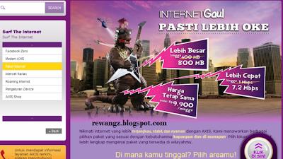 paket internet axis murah Daftar paket Internet Axis terbaru 2013