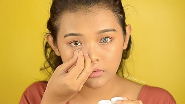 solusi cara mengatasi iritasi mata karena softlens by beauty blogger indonesia Ririeprams