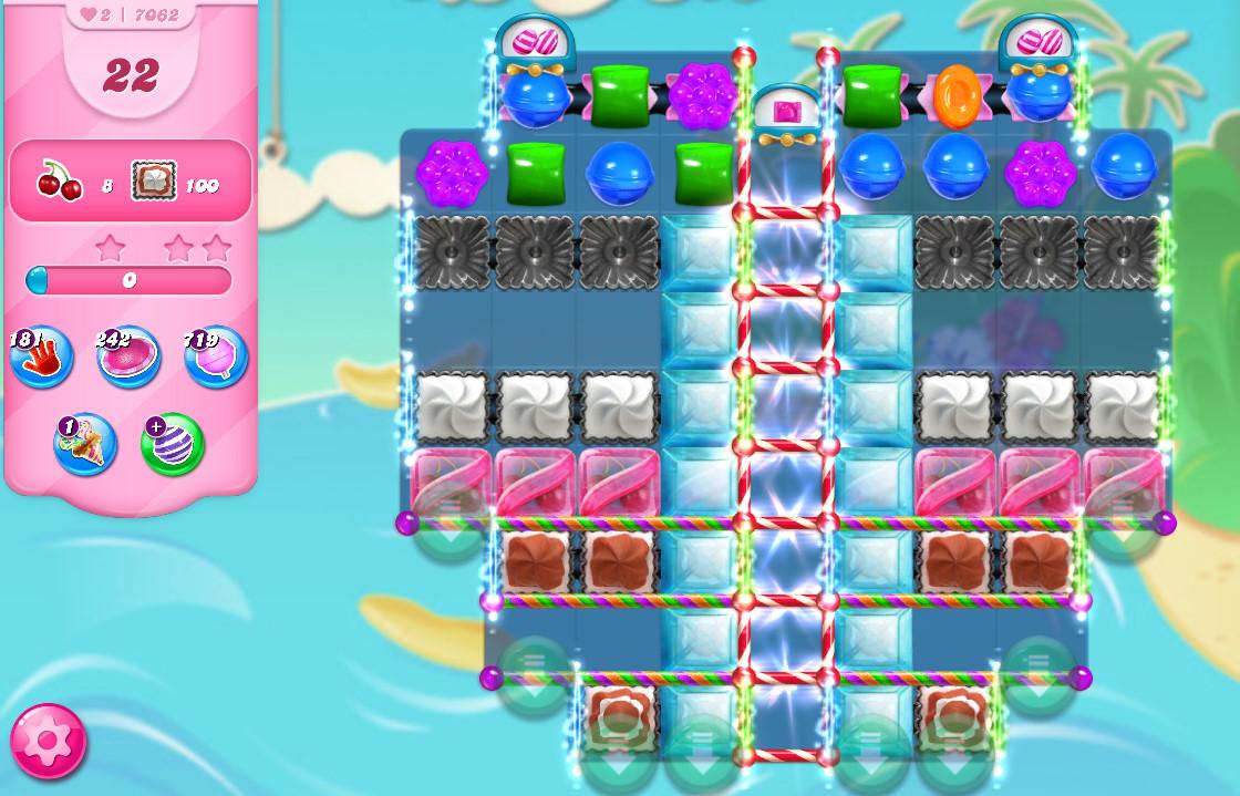 Candy Crush Saga level 7062