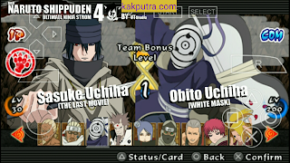 [New Game] Naruto Shippuden Ultimate Ninja Storm 4 MOD PPSSPP Untuk Android Terbaru