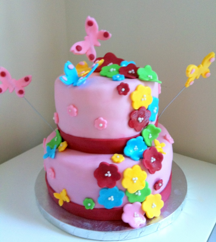 Sweetness By D.: 1st Birthday Cakes For Girls
