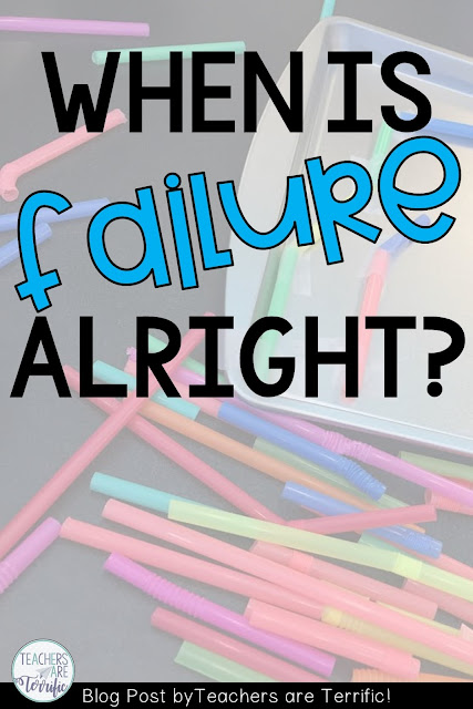 STEM Lab Failures: Sometimes we have some epic failures in the lab and it is just really okay! Children learn from errors much more so than from always being correct! Read about some great failures on my part lately!