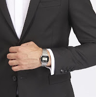 Casio A158WEA-1EF - elegante con giacca