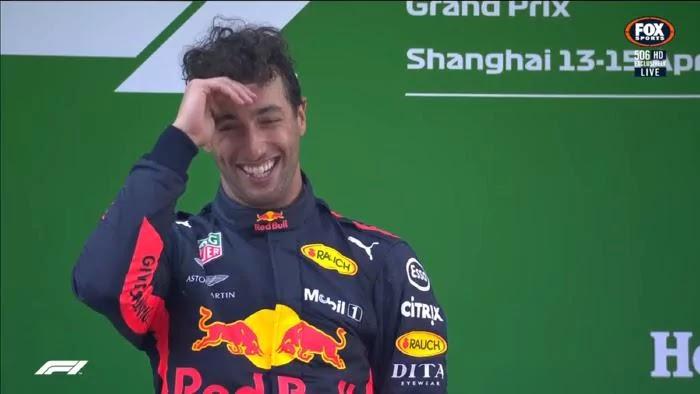 F1: Daniel Ricciardo wins 2018 Formula 1 Chinese Grand Prix