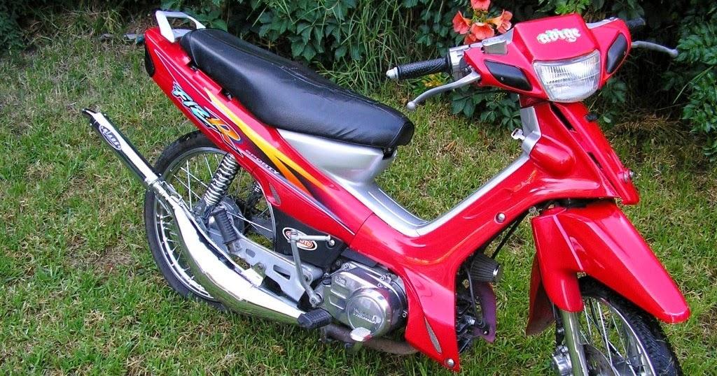 Modifikasi Motor Fiz R Warna Merah Hitam