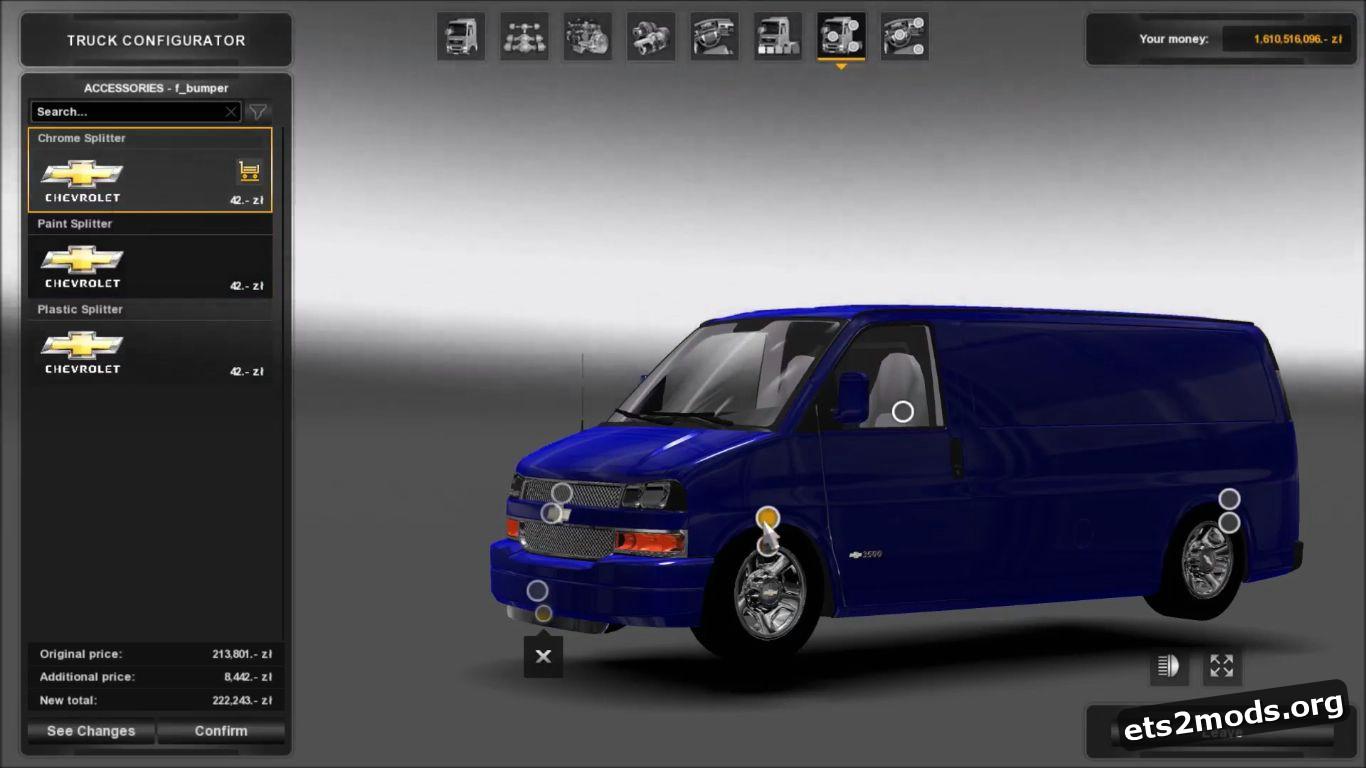Car - Chevrolet Express V 1.0